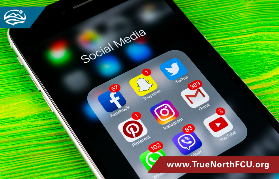 cell phone social media icons